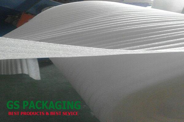 Cuộn mút xốp Pe Foam 2mm chiều dài 150m