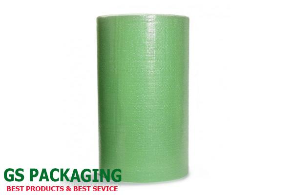 Cuộn xốp hơi màu xanh lá cây