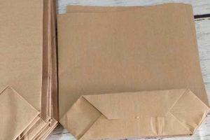 túi giấy xi măng 16x26cm
